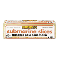 Submarine Cheese Slices