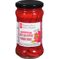 Whole Sweet Red Peppers