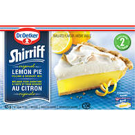 Filling and Dessert Mix, Lemon Pie
