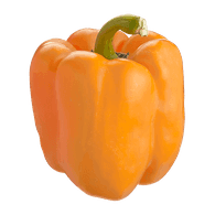Organic Greenhouse Peppers, Orange