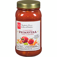 Pasta Sauce, 7-Vegetable Primavera