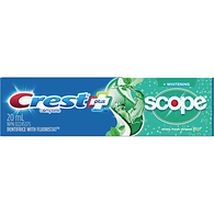 Dentifrice blanchissant avec Scope