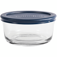 Round Storage with Lid