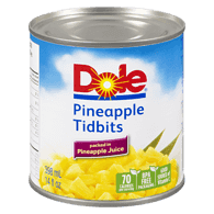 Pineapple Tidbits in Pineapple Juice