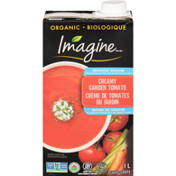 Organic Low Sodium Soup, Creamy Tomato