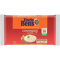 Converted Brand Original Long Grain Rice