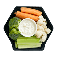 Lunch Size Veggies & Dip