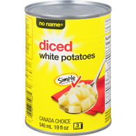 Diced White Potatoes