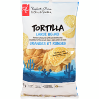 Tortilla Chips, Large Rounds