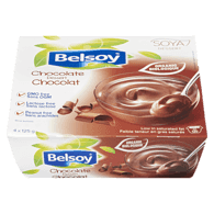 Organic Soy Pudding, Chocolate