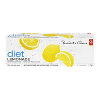 Naturally Flavoured Diet Lemonade Sparkling Soda