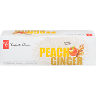 Ginger Peach Drink