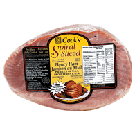 Cook's Spiral Sliced Honey Ham
