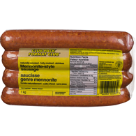 Mennonite Style Sausage, Club Pack