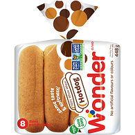 Hot Dog Rolls, Whole Wheat