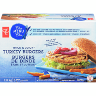 Blue Menu Thick & Juicy, Turkey Burgers