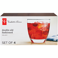 Double Old Fashioned Glass 4-Pack