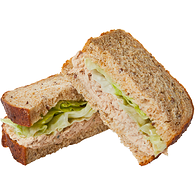 Tuna Salad Sandwich on Multigrain Bread