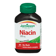 Niacin with Inositol, 500mg
