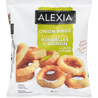 Crispy Onion Rings with Panko Breading & Sea Salt