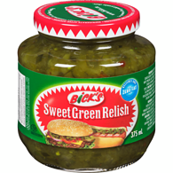 Sweet Green Relish