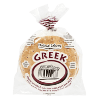 Greek Pita, 100% Whole Wheat