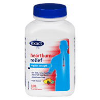 Heartburn Relief, Regular Strength