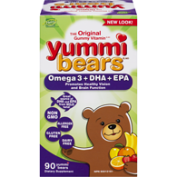 Hero Nutritionals Yummi Bears Omega 3 + DHA