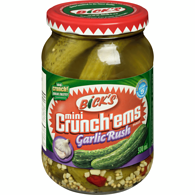 Crunch'ems Pickles, Garlic