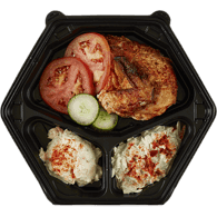 Cold Plate, 1/4 Chicken
