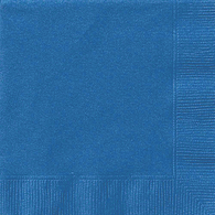 Lunch Napkins, Royal Blue
