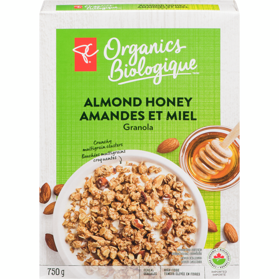 PC Organics Honey Almond Granola