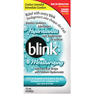 Blink Moisturizing Lubricant Eye Drops