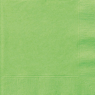 Lime Green Lunch Napkins