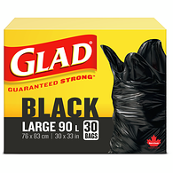 Easy-Tie Garbage Bags, Large