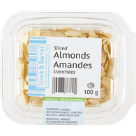 Sliced Blanched Almonds