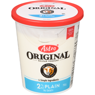 Original Balkan Style Yogurt, Plain 2%