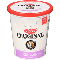 Original Balkan Style Yogurt, Plain 0%