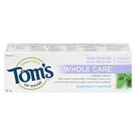 Whole Care Toothpaste, Peppermint