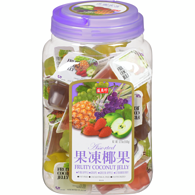 Fruity Coconut Jelly Assortment