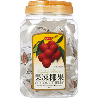 Fruit Jelly, Coconut Lychee