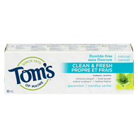 Natural Clean & Fresh Toothpaste, Spearmint