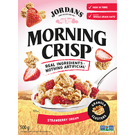 Morning Crisp Granola Clusters Simply Strawberry