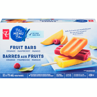 Blue Menu Fruit Bars, Orange Raspberry Mango