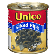 Black Olives, Sliced Ripe