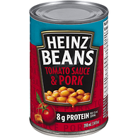 Beans with Pork & Tomato Sauce