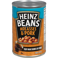 Beans with Pork & Molasses