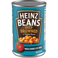 Deep-Browned Beans with Tomato Sauce