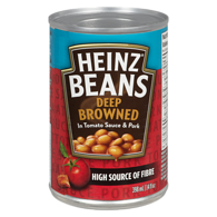 Deep-Browned Beans with Pork & Tomato Sauce