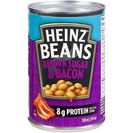 Beans with Brown Sugar & Bacon